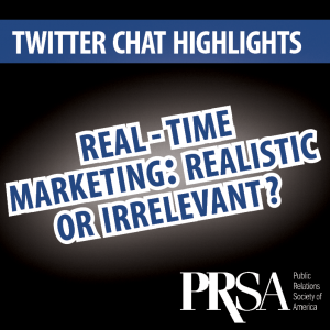 Real-Time Marketing Twitter Chat Highlights