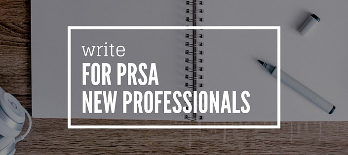 Guest blog for PRSA New Pros