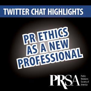 PRSA Twitter Chat - PR Ethics