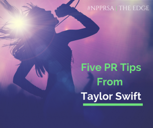 Five PR tips from Taylor Swift