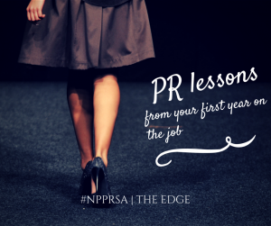 PR Lessons from your first year on the job