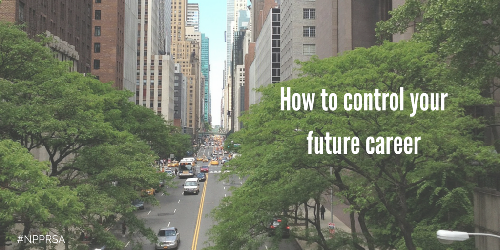 How to control your future career