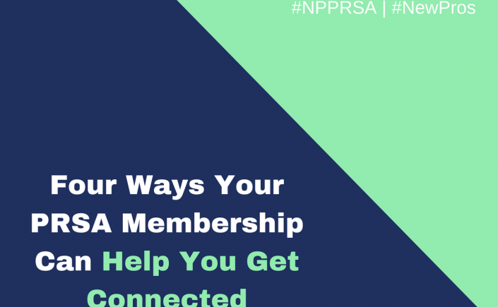 PRSA can help you get connected